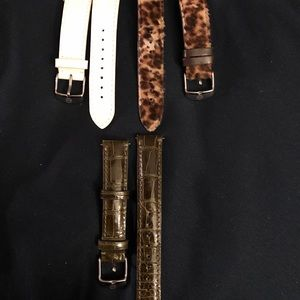Michele watch bands 18mm and 16mm